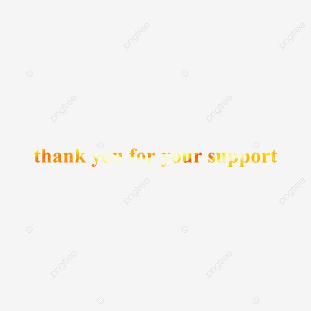 Objet Merci Pour Votre Soutien Phrase Texture Effet De Texte