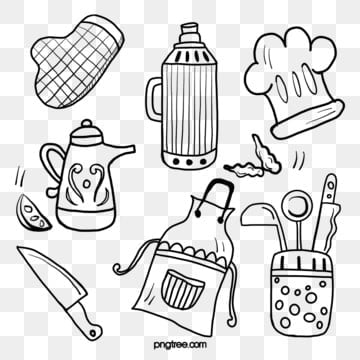 Kitchen Supplies Png Images Vector And Psd Files Free