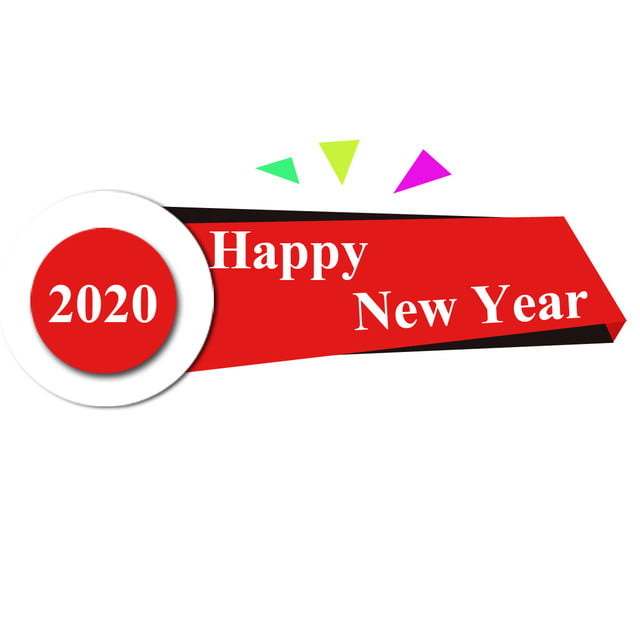 Happy New Year 2020 Background Happy New Year Png