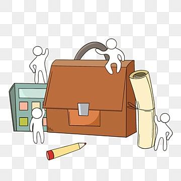 팀웍 서류 가방 만화 악당 일러스트 레이션, 팀, 협업, 만화 PNG 및 PSD