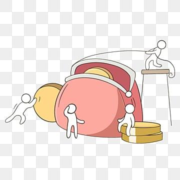 팀웍 전송 금화 만화 일러스트 레이션, 팀, 협업, 만화 PNG 및 PSD