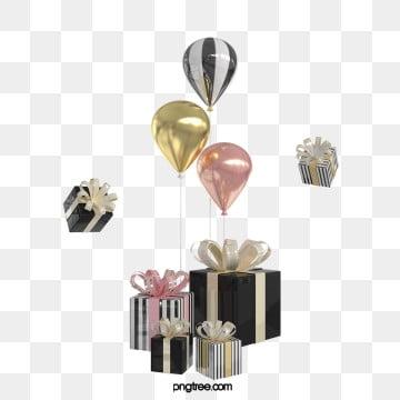 3d 블랙 골드 크리스마스 선물 상자, 축전, 축하하다, 금을 박다 PNG 및 PSD