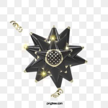 3d 블랙 골드 축제 축하 나비 넥타이 꽃, 명절, 활, 선물을 보내다 PNG 및 PSD