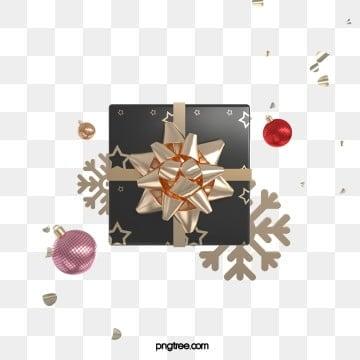 3d 크리스마스 블랙 골드 질감 선물 상자, 축전, 질감, 금을 박다 PNG 및 PSD
