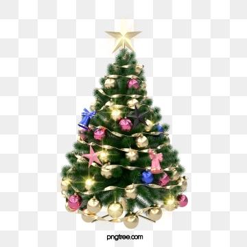 3d 크리스마스 트리, 3 D., 성전, 선물 PNG 및 PSD
