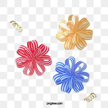 3d 축제 축하 나비 넥타이 꽃, 명절, 3 D., 파티 PNG 및 PSD