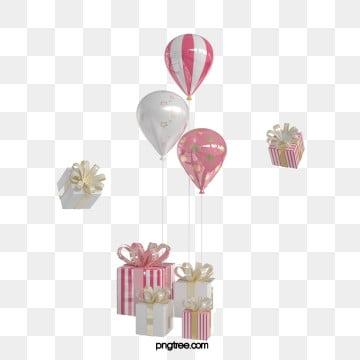 3d 핑크 로즈 골드 크리스마스 축하 선물 상자, 축전, 축하하다, 금빛 PNG 및 PSD