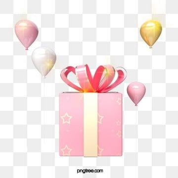 3d 핑크 발렌타인 선물 상자, 명절, Christmas, 미친 듯이 기뻐하다 PNG 및 PSD