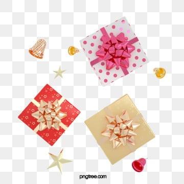 3d 빨간 입체 금색 축하 선물 상자, 명절, Christmas, 미친 듯이 기뻐하다 PNG 및 PSD
