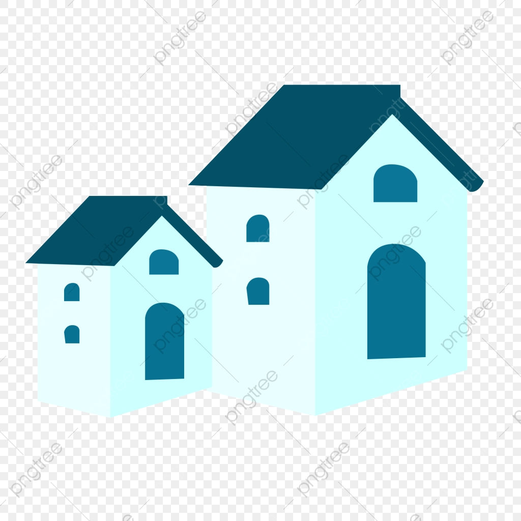 Cartoon Christmas House Png Element Winter Solstice House Building Png Transparent Clipart Image And Psd File For Free Download