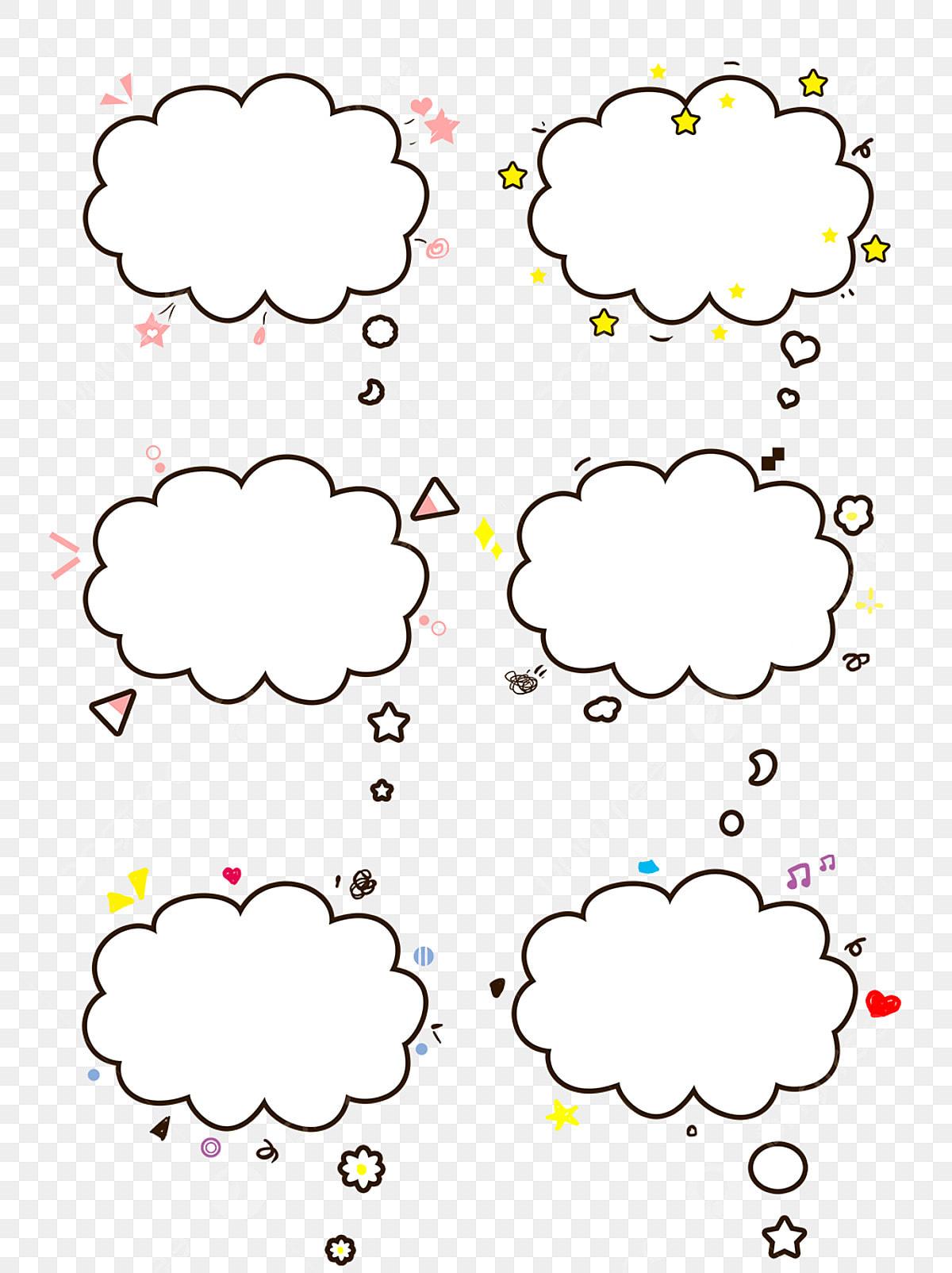 gambar elemen dialog sempadan awan putih comel kartun kartun comel awan png dan psd untuk muat turun percuma https ms pngtree com freepng cartoon cute white cloud border dialog element 4393196 html