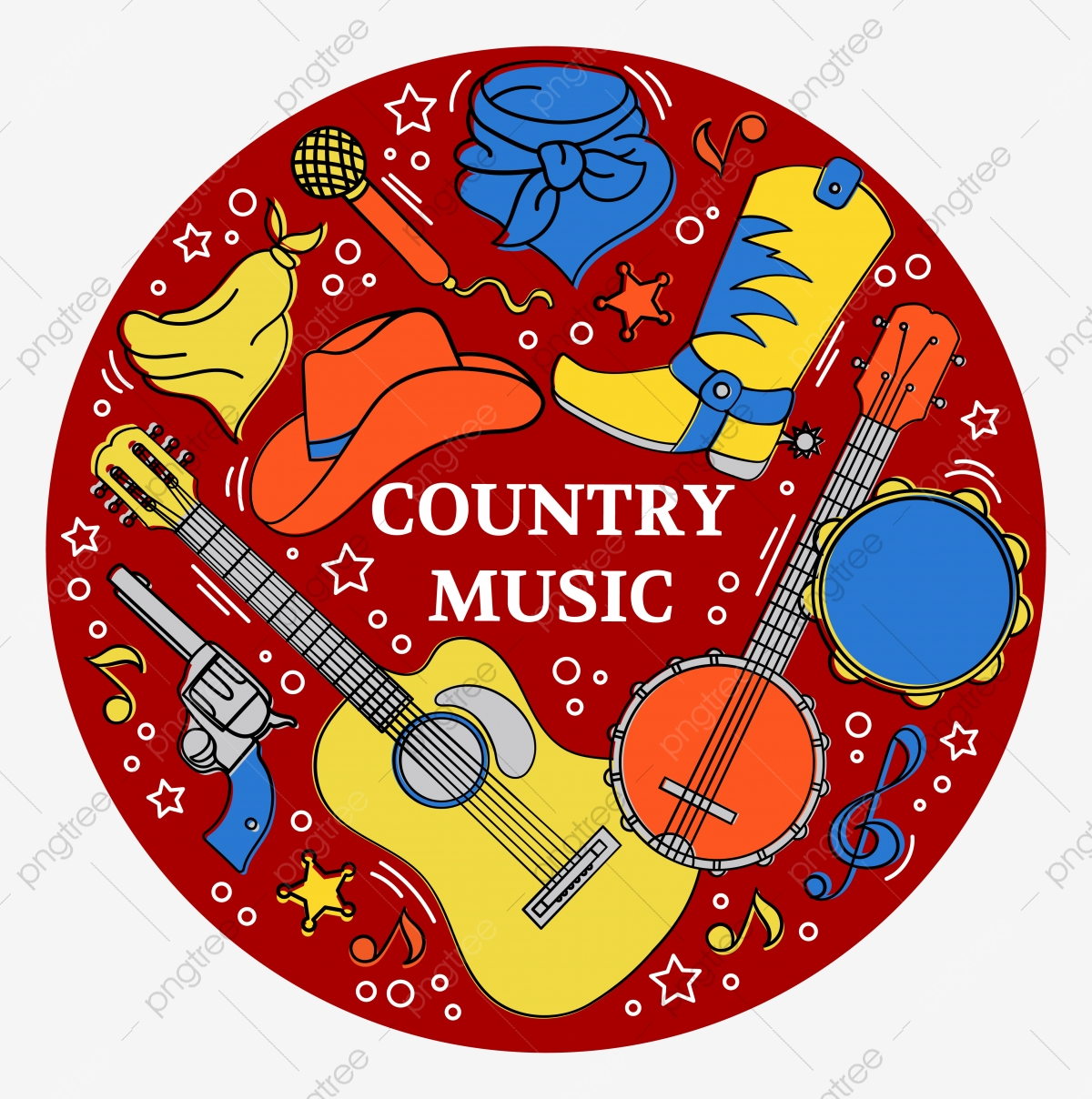 Free Country Music Clipart, Download Free Clip Art, Free Clip Art on Clipart  Library