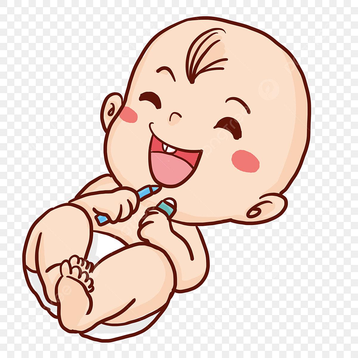 Nino Bebe Bebe Dibujo Animado Ilustracion Bebe Moderno Png Y