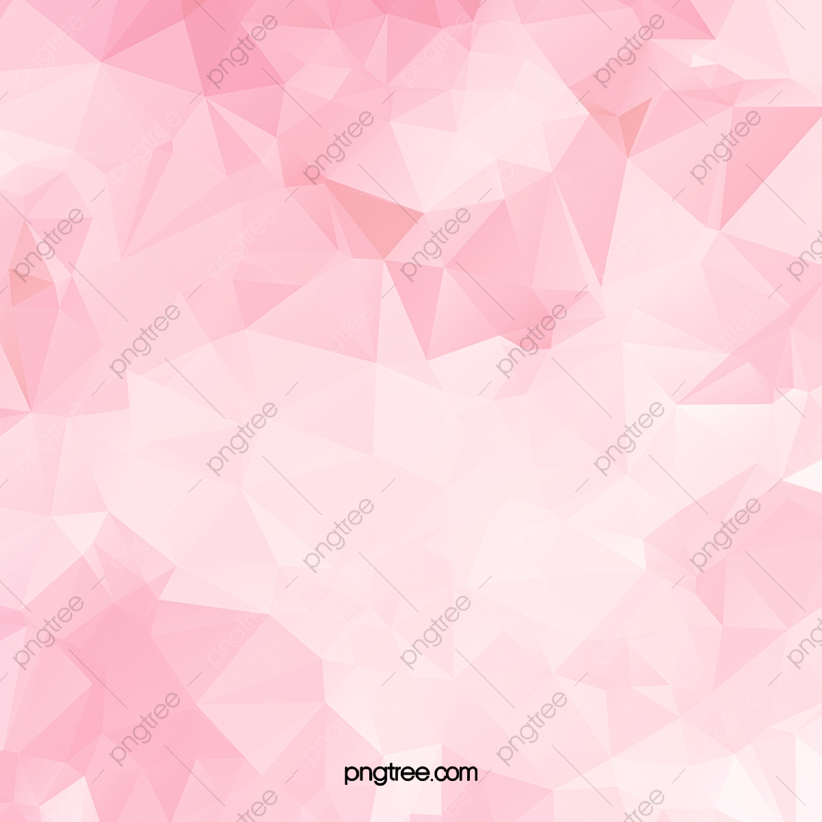 Flat Gradient Pink Aesthetic Background With Geometric Shape