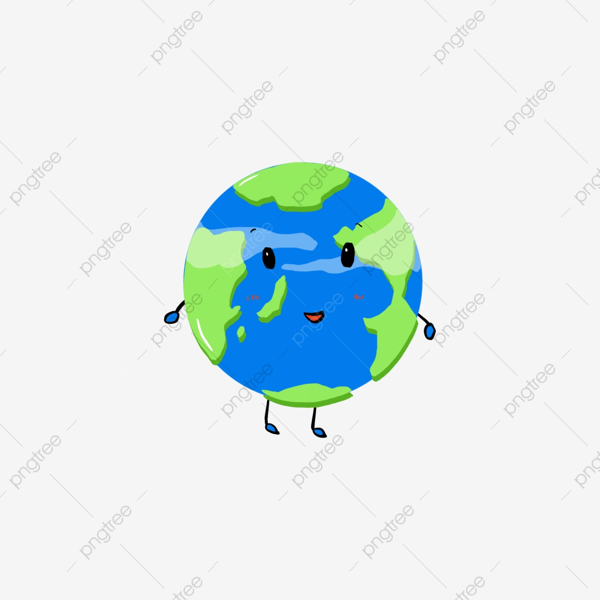 Hand Drawn Cartoon Cute Earth Hand Drawn Cartoon Earth Png Transparent Clipart Image And Psd File For Free Download