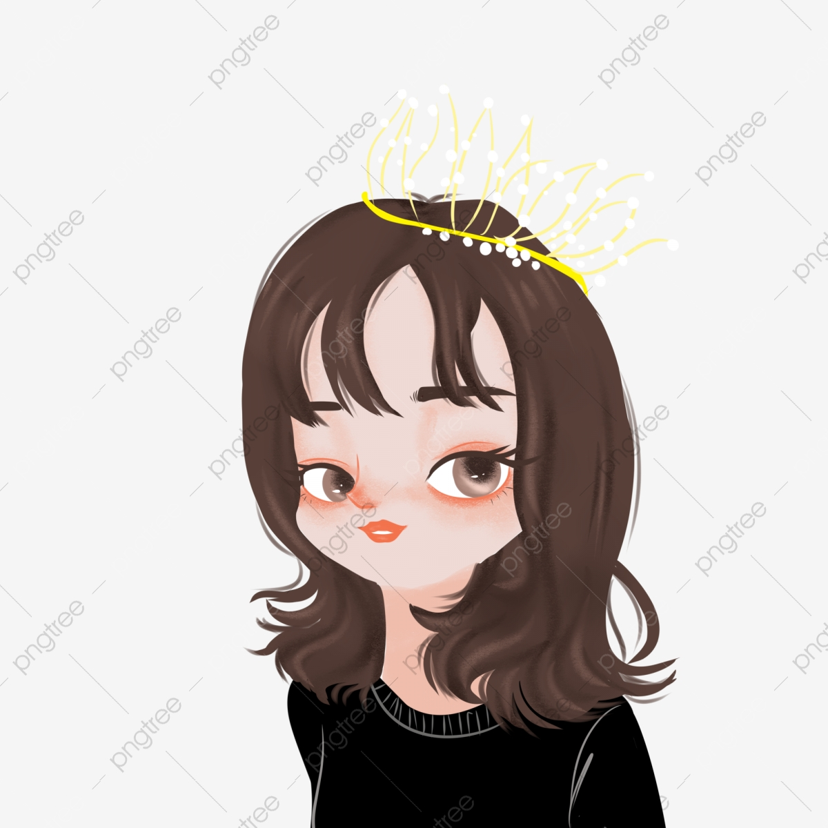 Hand Drawn Cute Cartoon Queen Princess Avatar Girl Wearing Crown Goddess Hand Drawn Cute Cartoon Png Transparent Clipart Image And Psd File For Free Download Queen crown hand drawn illustration. https pngtree com freepng hand drawn cute cartoon queen princess avatar girl wearing crown goddess 4386992 html