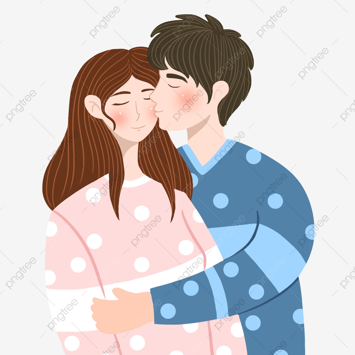 Couple Kiss Png Images Vector And Psd Files Free Download On Pngtree