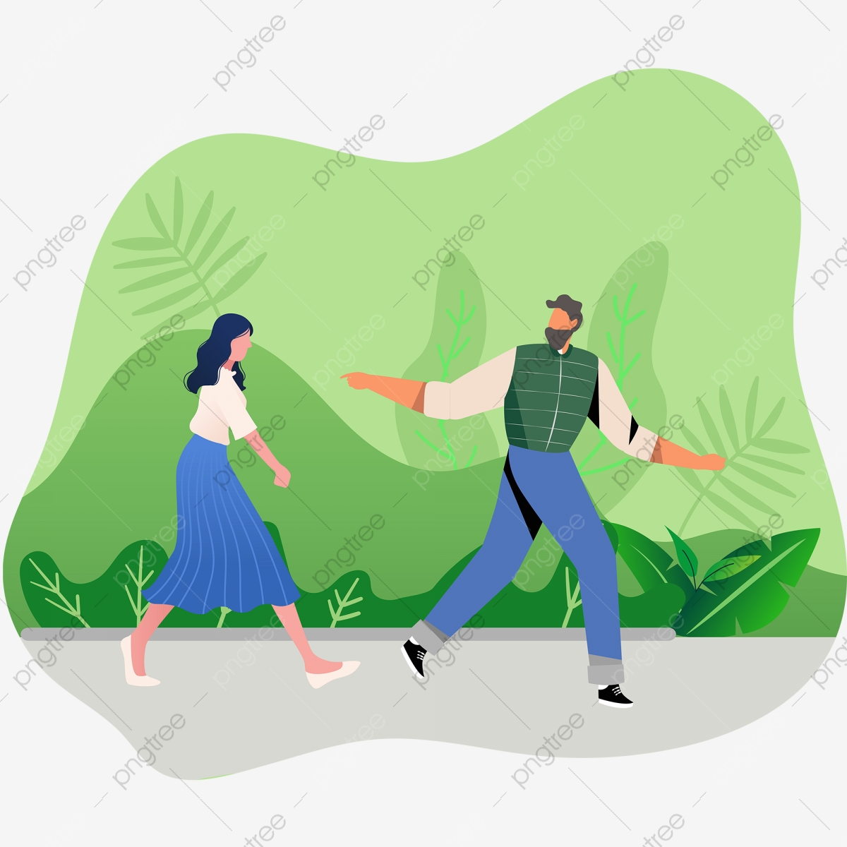 illustration wind couple dating park walk vector elements illustration walk park png and vector with transparent background for free download https pngtree com freepng illustration wind couple dating park walk vector elements 4384059 html