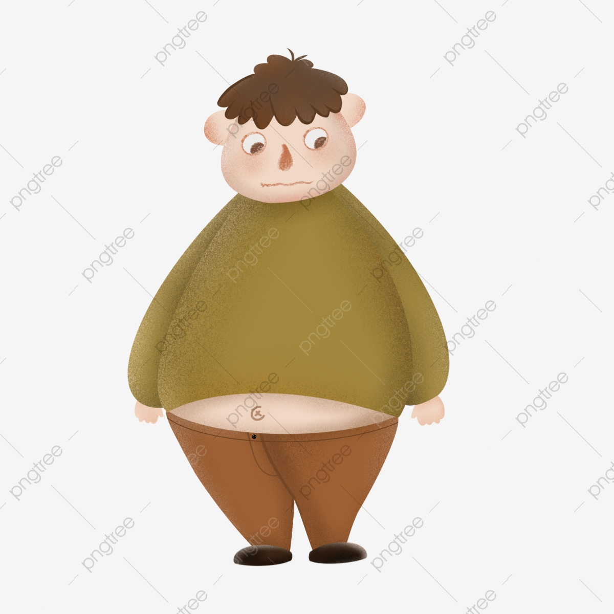 obesity png images vector and psd files free download on pngtree https pngtree com freepng obese characters hand painted noise style 4392408 html