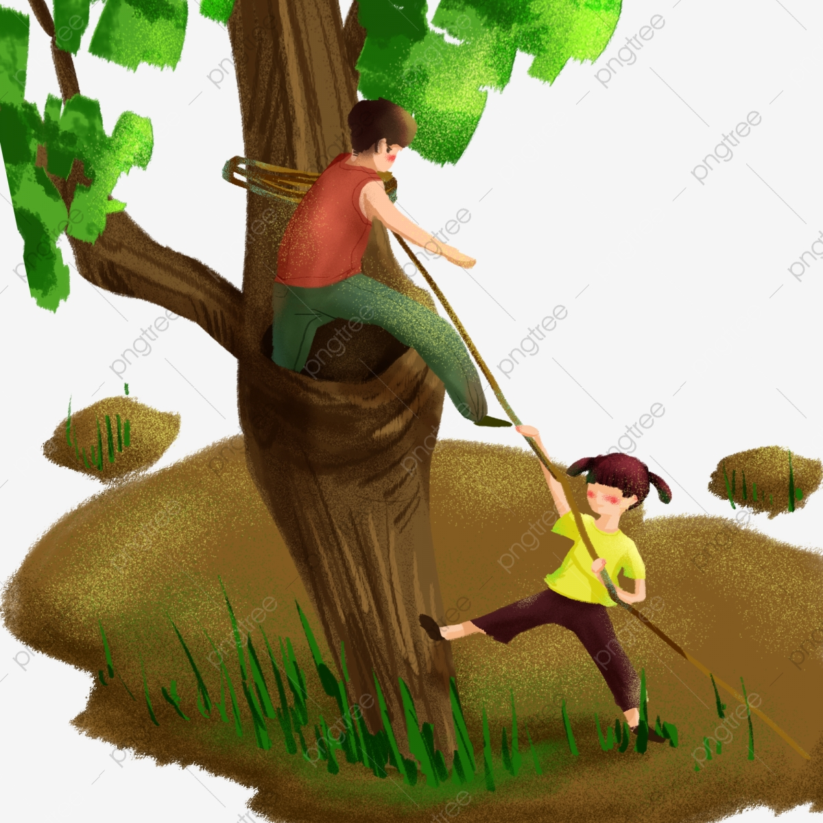 Summer Climbing Tree To Enjoy The Cool Children S Image Elements Painted Colored Cartoon Png Transparent Clipart Image And Psd File For Free Download Little boy climbing up a tree. https pngtree com freepng summer climbing tree to enjoy the cool children s image elements 4391027 html