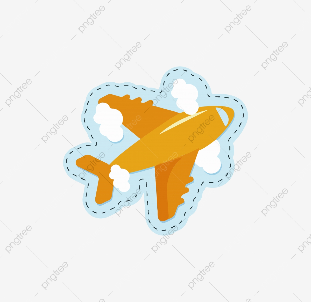 Travel Tool Plane Cartoon Cute Airplane Cartoon Plane Airplane