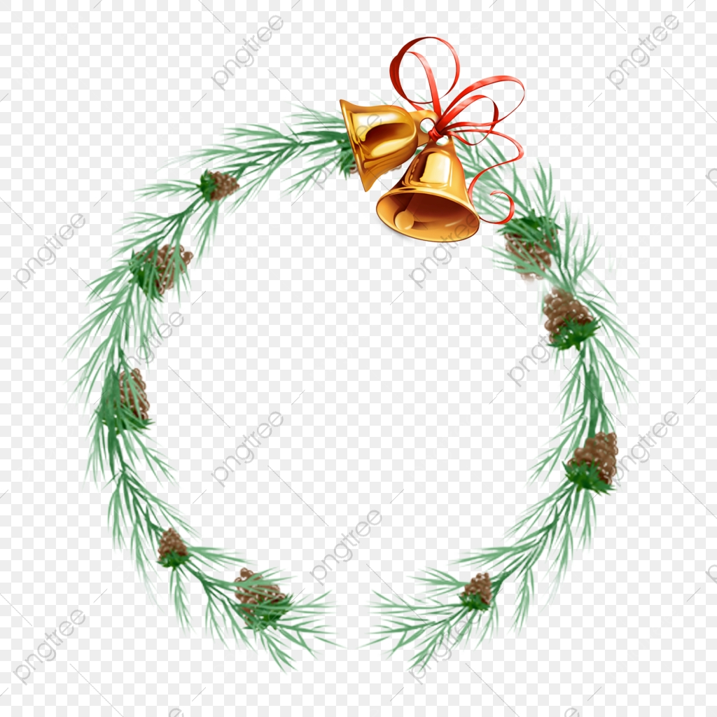 Christmas Wreath Clipart.Watercolor Christmas Wreath Png Free Green Leaf Png