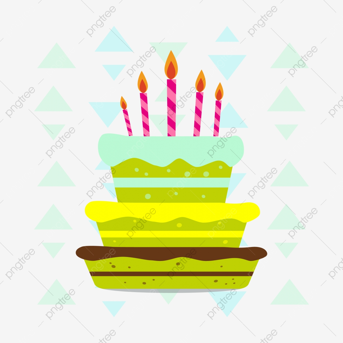 Sensational Birthday Material Cartoon Fresh Illustration Flat Vector Graphic Funny Birthday Cards Online Alyptdamsfinfo