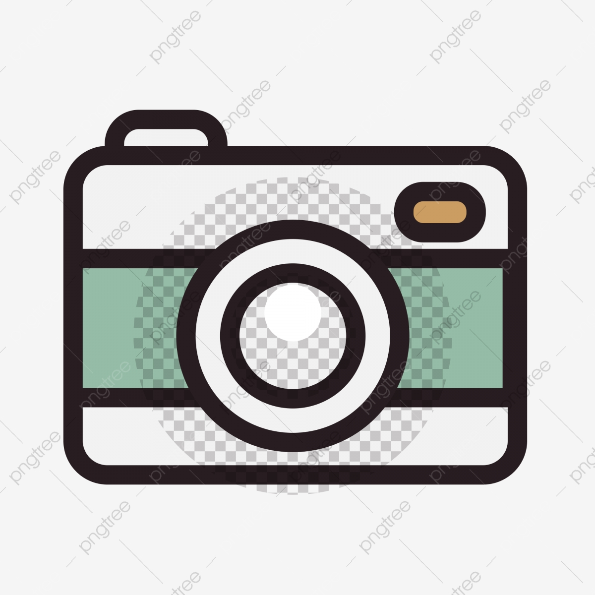 Cartoon Camera Camera Cartoon Illustration Creative Cartoon Download Png Transparent Clipart Image And Psd File For Free Download