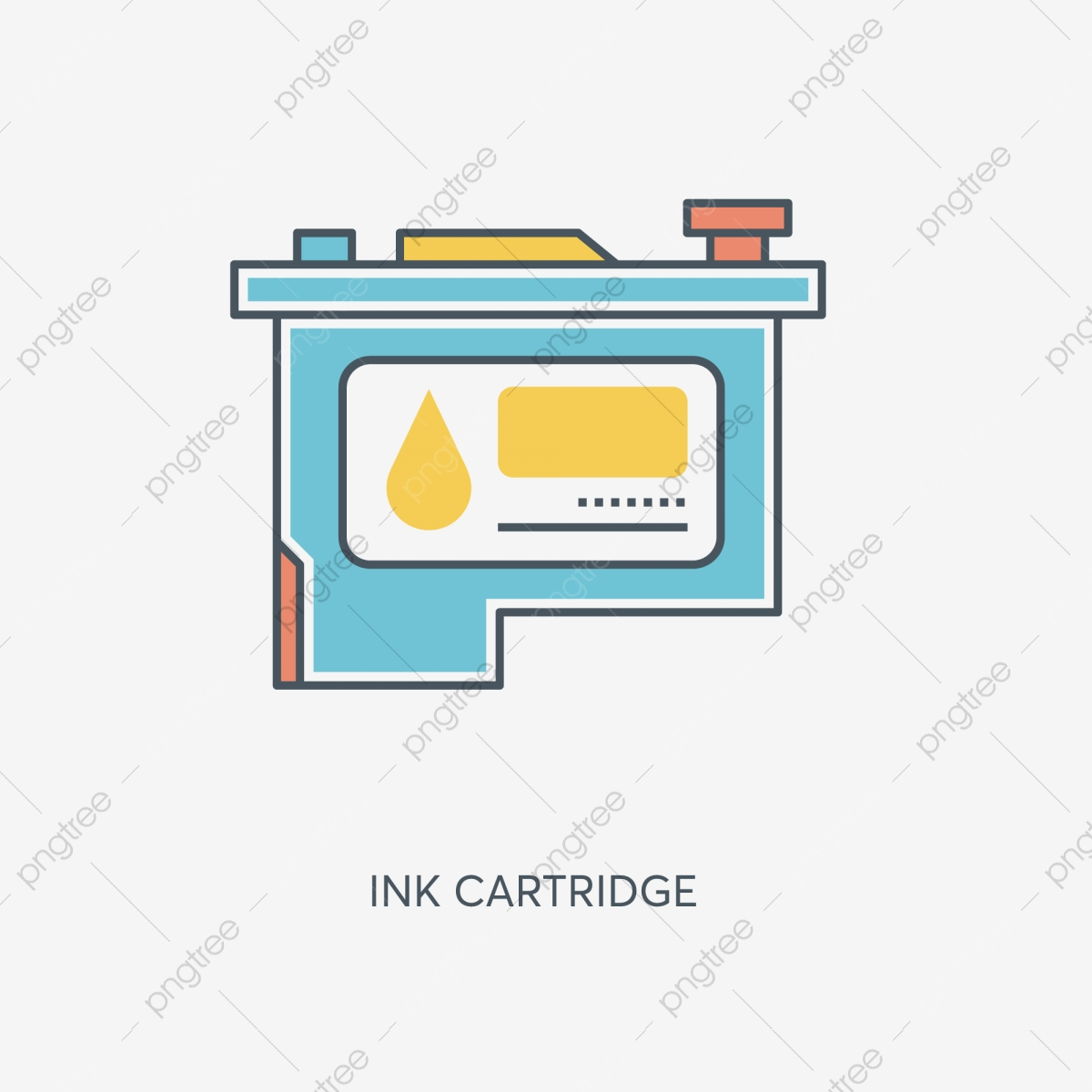 Cartoon Table Icon Free Illustration Office Desk Small Table