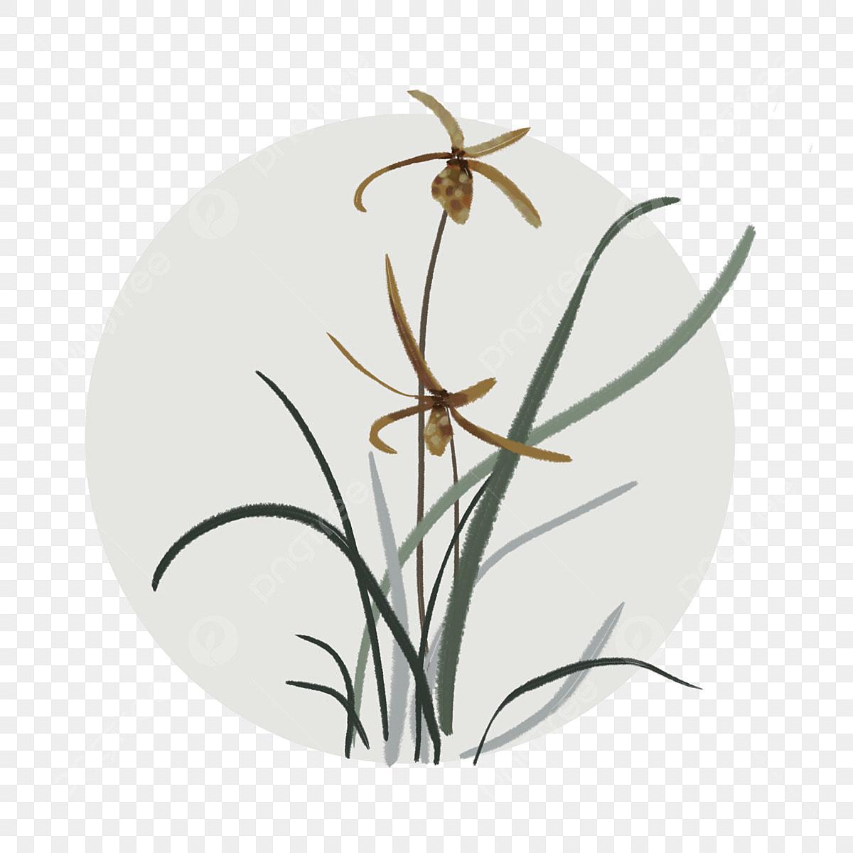 Lukisan Bunga Orkid