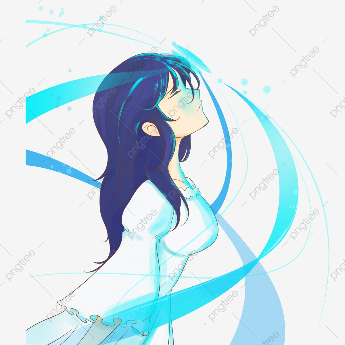 Gadis Sejuk El Animasi Lukisan Tangan El Hand