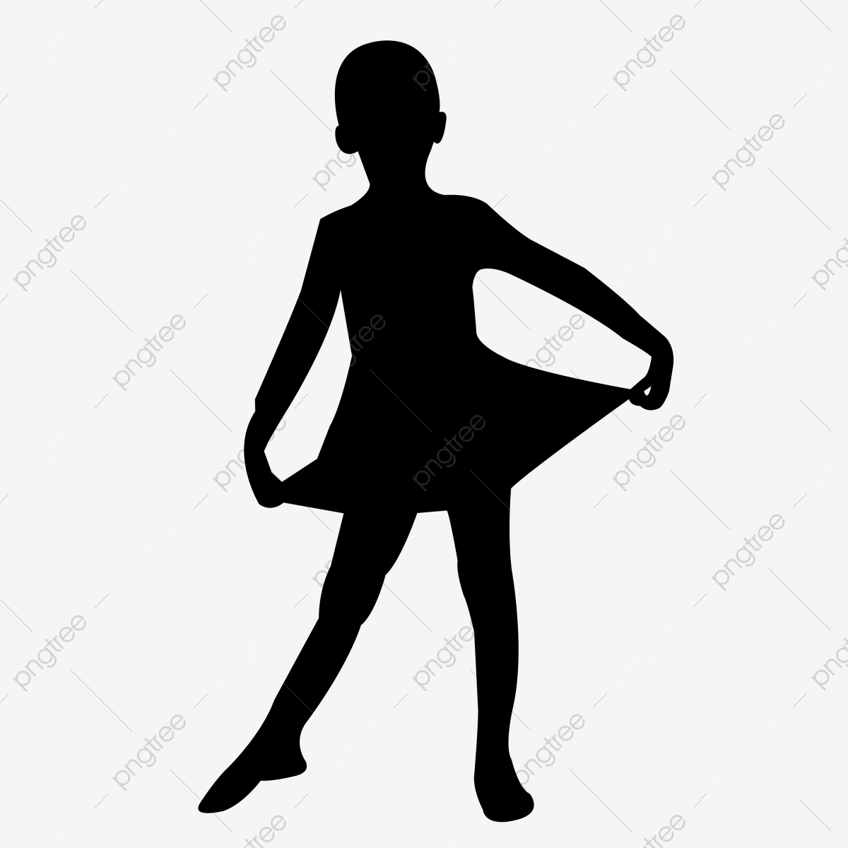 Dancing Kids Vector Illustration Silhouette Dancing Dance Kid Png Transparent Clipart Image And Psd File For Free Download