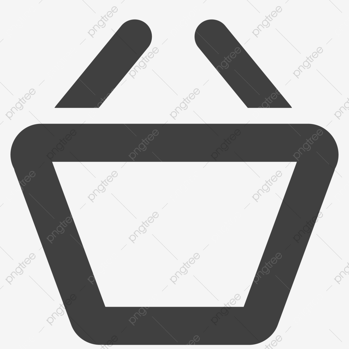 Empty Cartoon Shopping Cart Shopping Cart Shopping Consumption