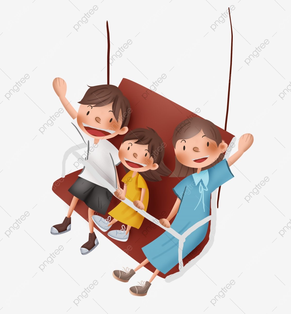 Swinging with the family
