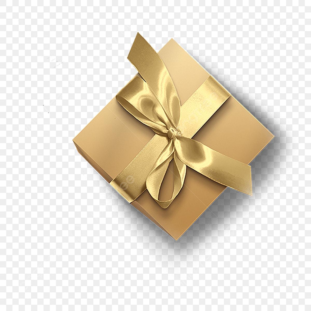 الذهب هدية التعبئة والتغليف علبة ذهب هدية مجانية التعبئة والتغليف Png وملف Psd للتحميل مجانا