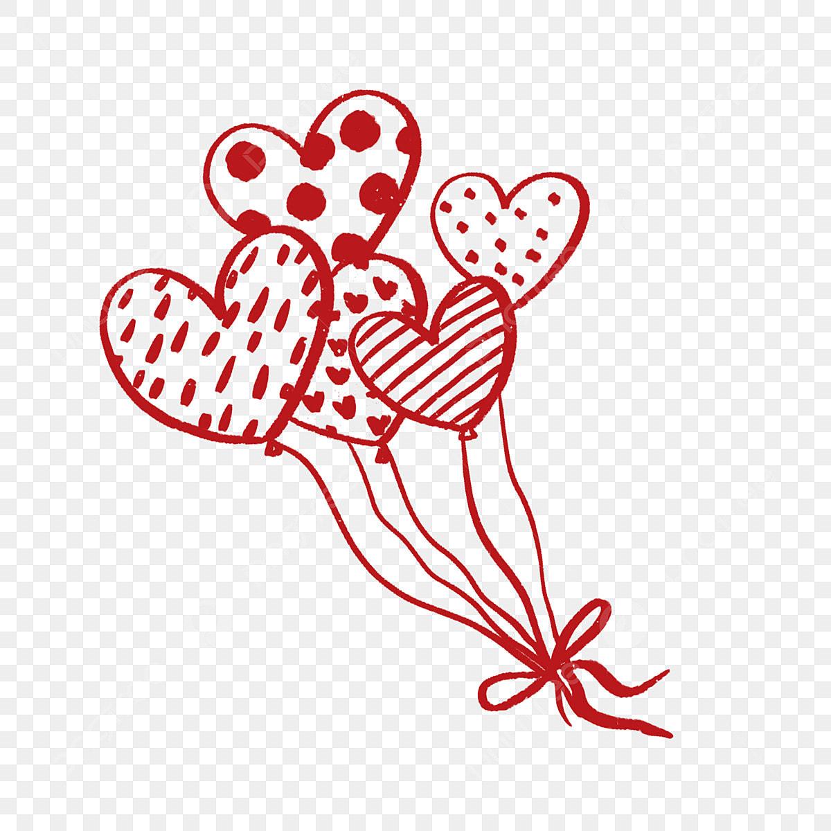 Amour Coeur Coeur Coeur De Dessin Anime Cadeau De La Saint