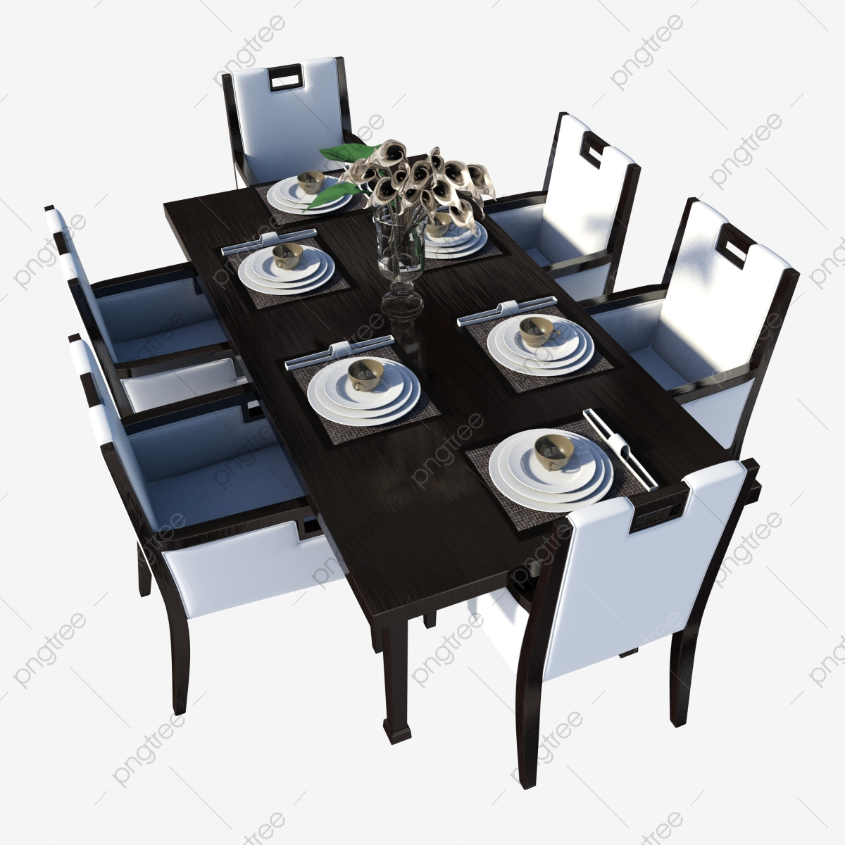 Modern Solid Wood Dining Table Chair, Dining Table, Dining Chair