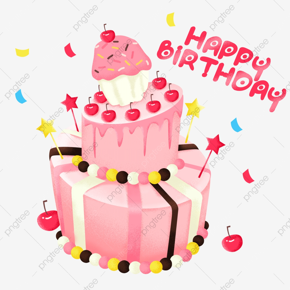 Enjoyable Pink Birthday Cake Png Material Pink Cake Birthday Cake Cake Funny Birthday Cards Online Fluifree Goldxyz