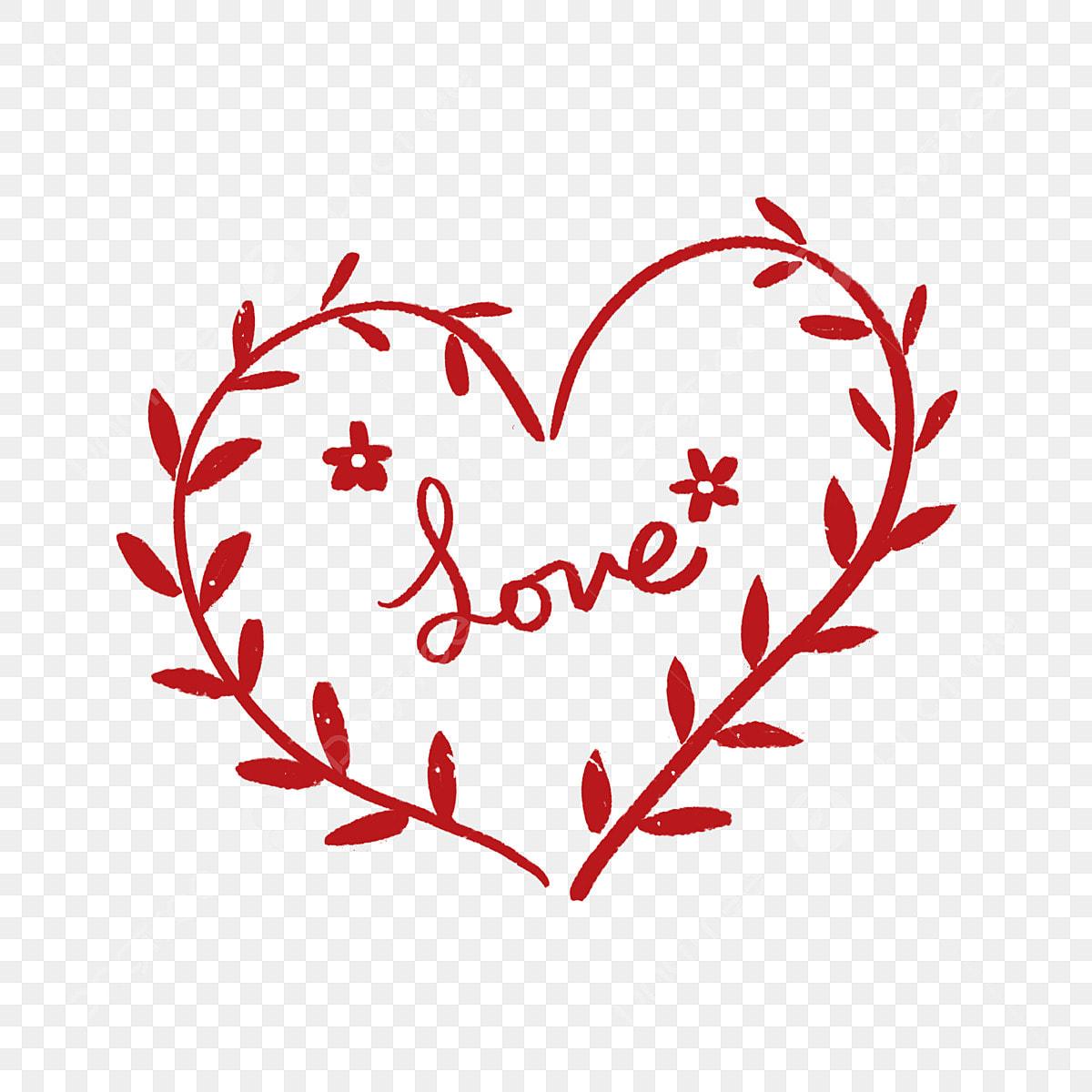 Amour Coeur Coeur Coeur De Dessin Anime Matieres Coeurs Rouges