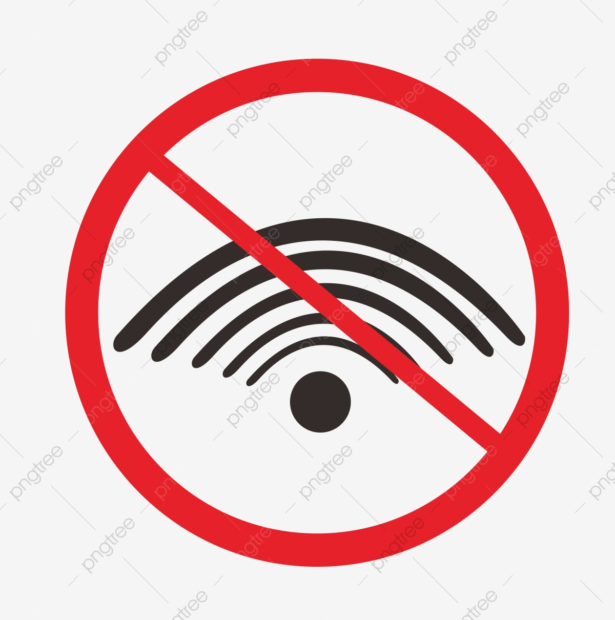 Red Wireless Network Connection Icon, Wlan PNG Transparent ...