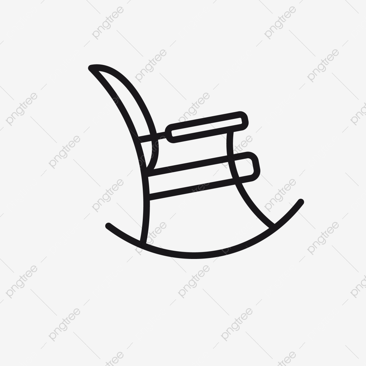 Picture of: Rocking Chair Icon Leisure Shaking Pattern Png And Vector With Transparent Background For Free Download