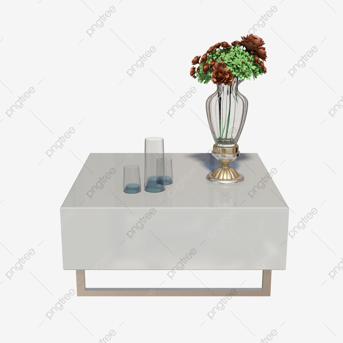 Table Salon Ronde Blanche table basse moderne table basse blanche meubles de salon
