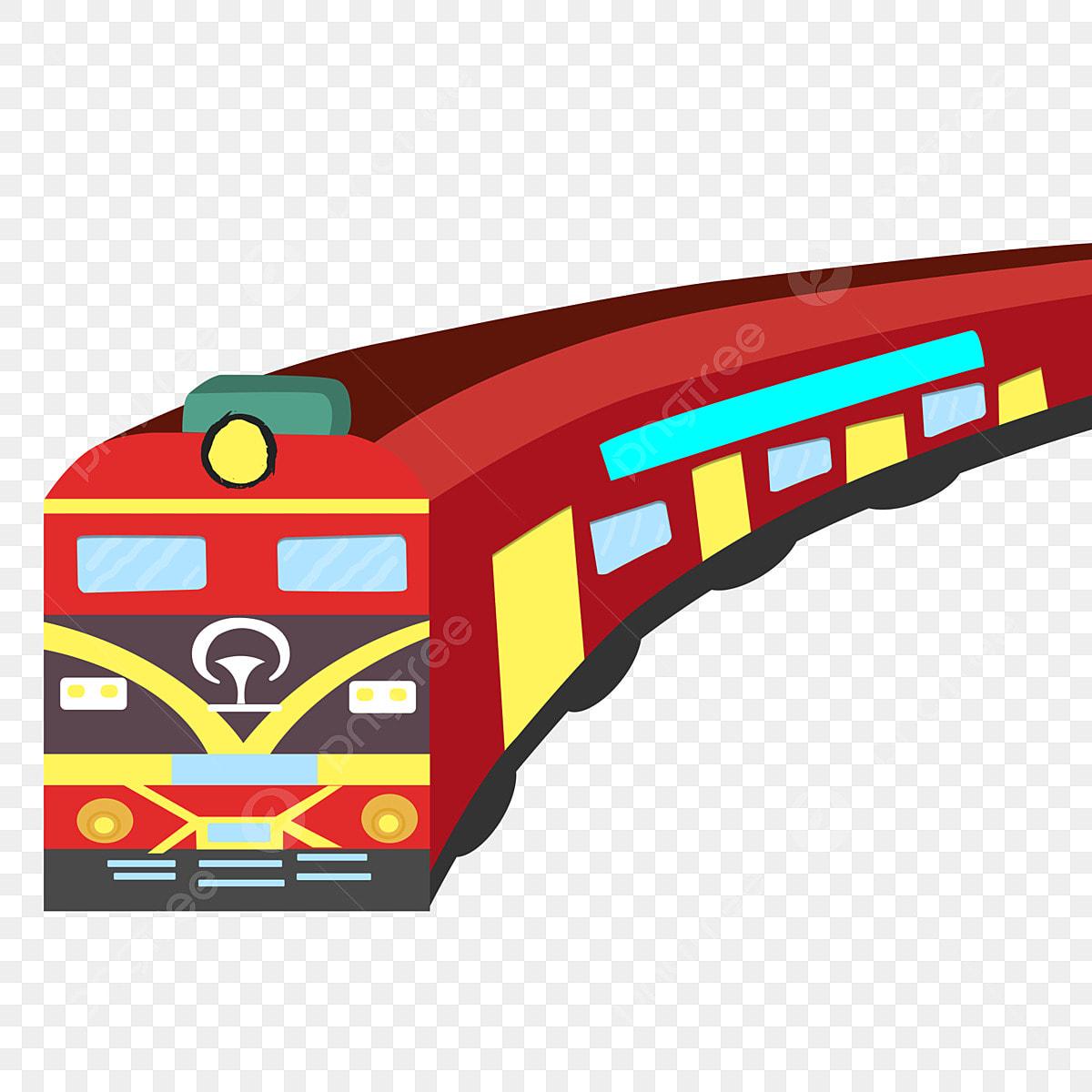 Gambar Kereta Api Kartun Berwarna Gambar Pengangkutan Kereta Api Kereta Api Corak Hiasan Pengangkutan Kereta Api Corak Hiasan Png Dan Psd Untuk Muat Turun Percuma