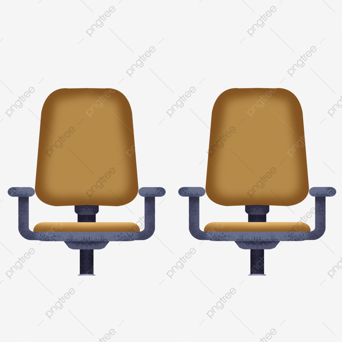 Two Office Chairs Chair Office Seat Png Transparent Clipart Image And Psd File For Free Download