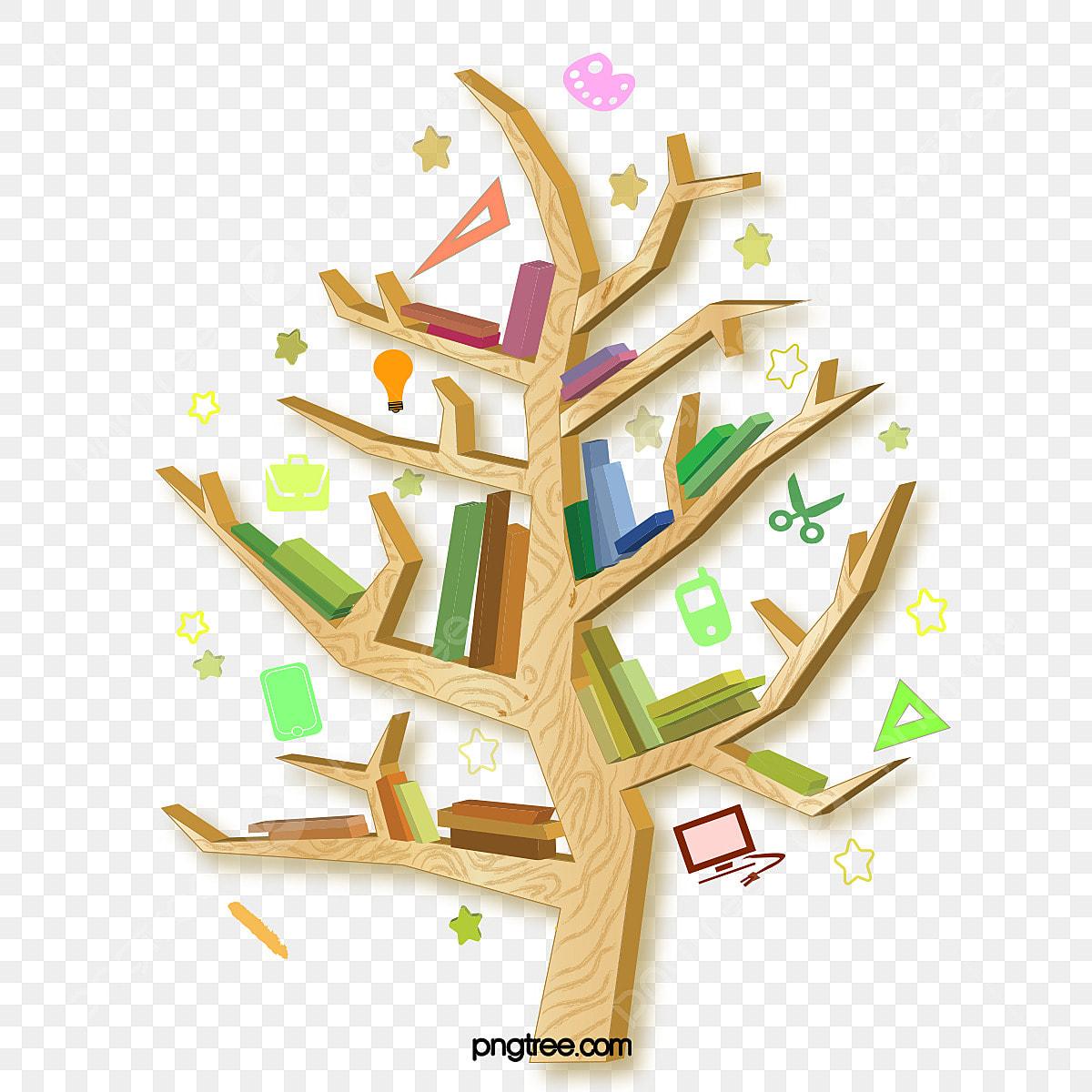 Arvore Da Sabedoria Estante Da Arvore Do Conhecimento Elementos Do Vetor De Livro De Madeira Livro Estante De Livros Estude Imagem Png E Vetor Para Download Gratuito