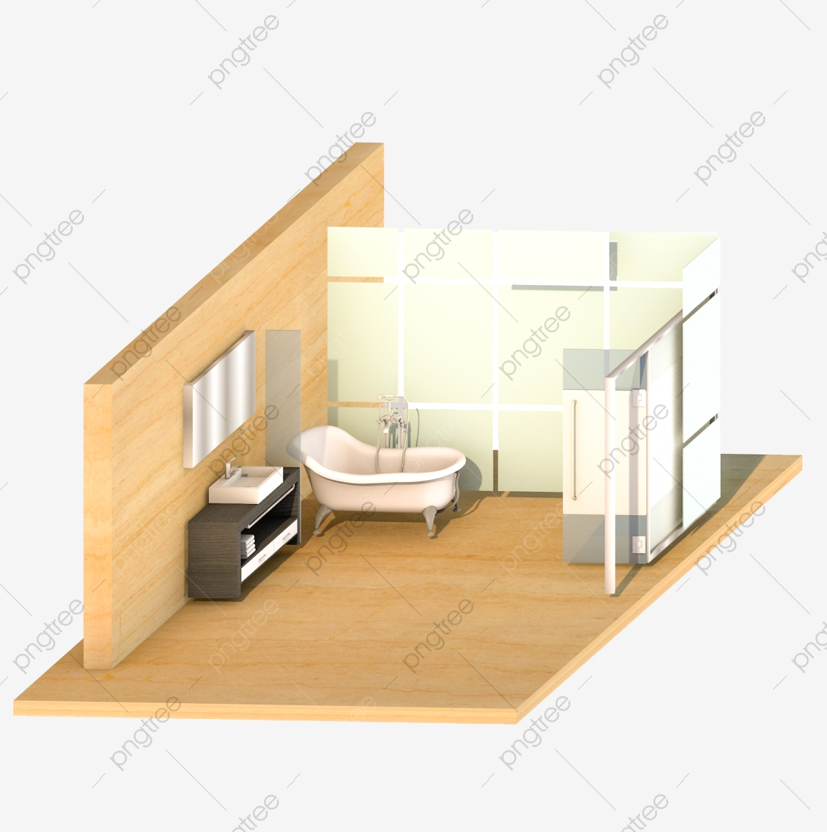 3d Bathroom Toilet Setting Scene 3d Bathroom Toilet 3d Toilet Three Dimensional Bathroom Furnishings Png Transparent Clipart Image And Psd File For Free Download