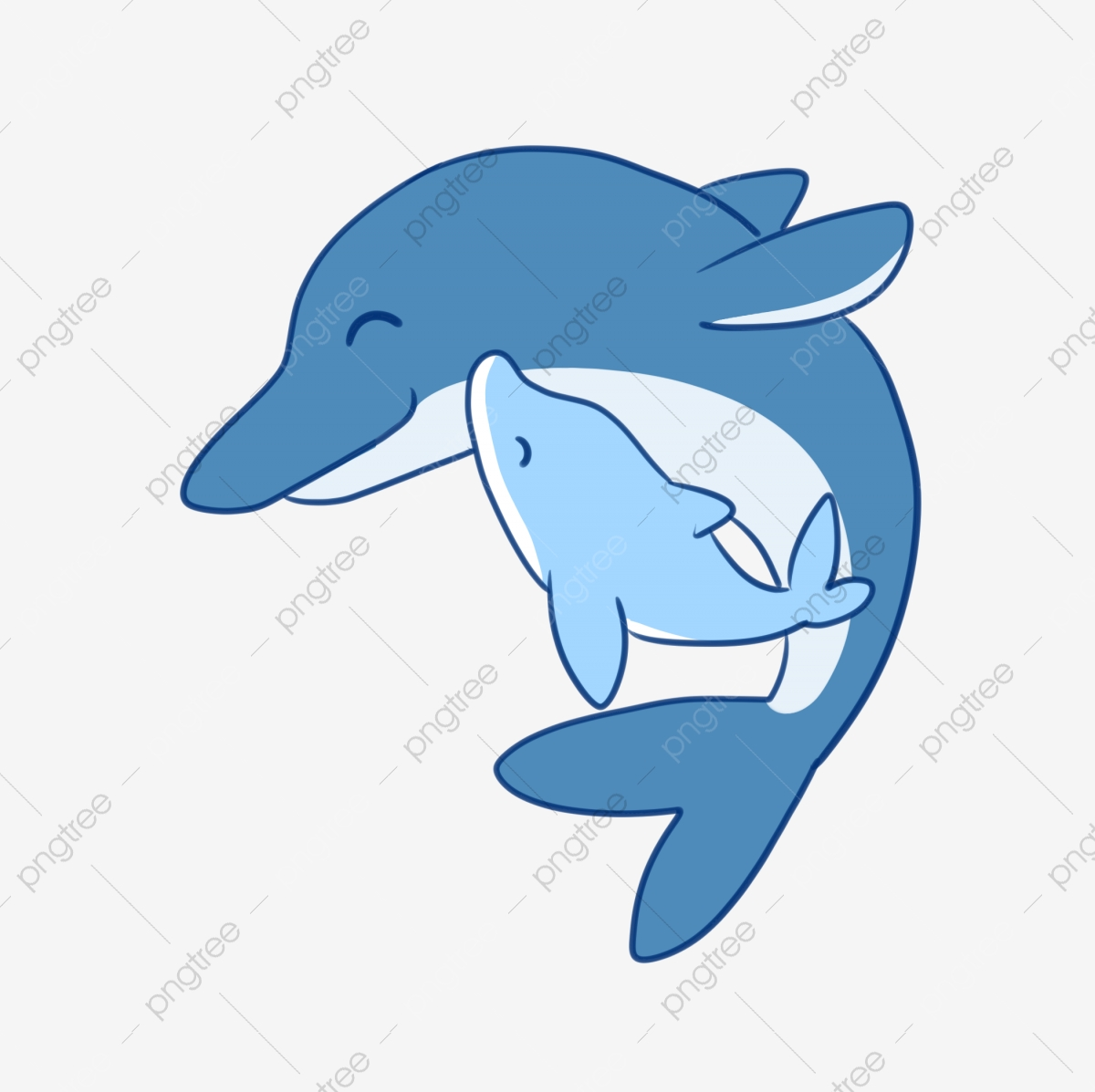 Animal Mother And Child Combination Dolphins Dolphin Mother S Day Mother And Child Png Transparent Clipart Image And Psd File For Free Download