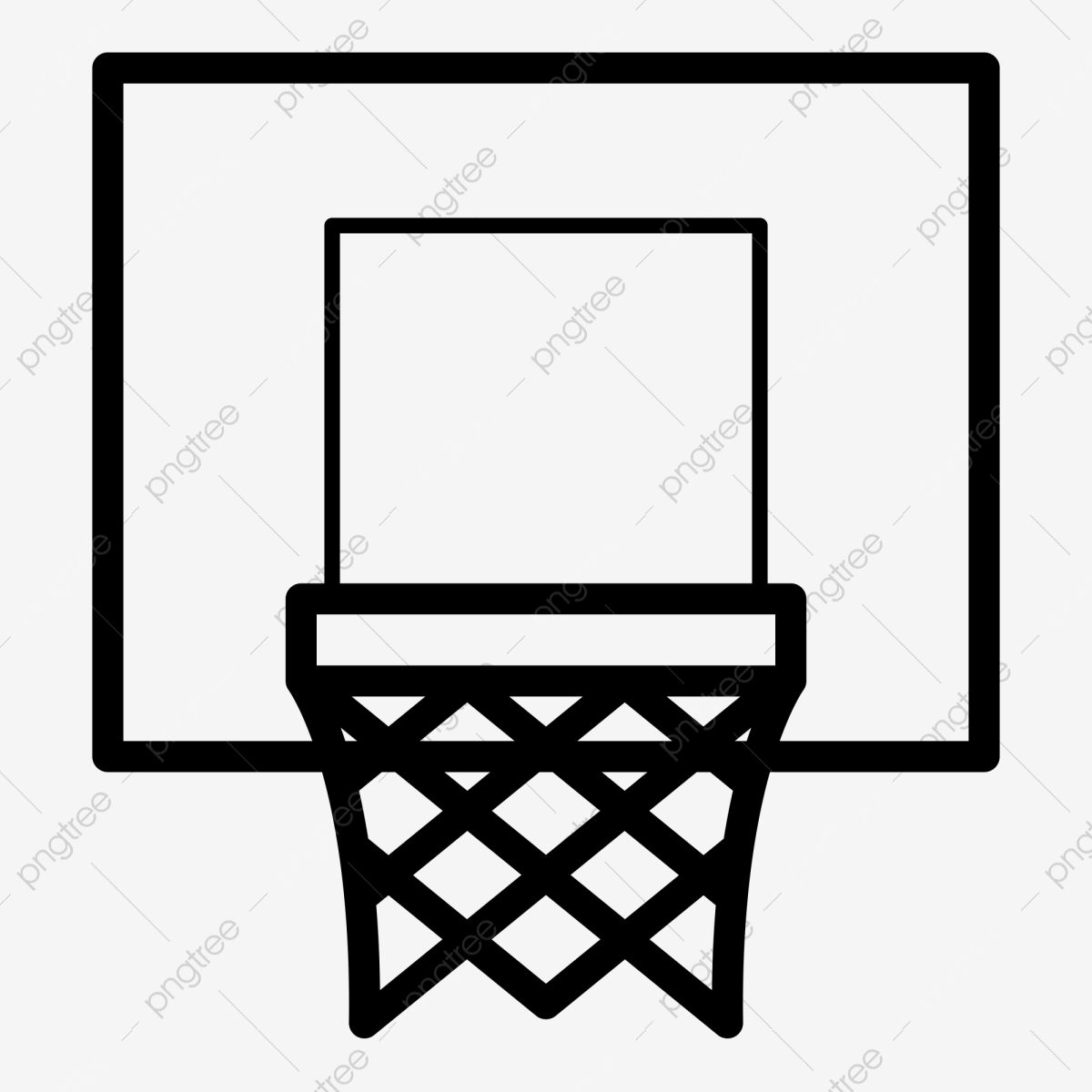 Action Vector Illustration Of Basketball Going Into A Hoop. Backboard,..  Royalty Free Cliparts, Vectors, And Stock Illustration. Image 101036219.