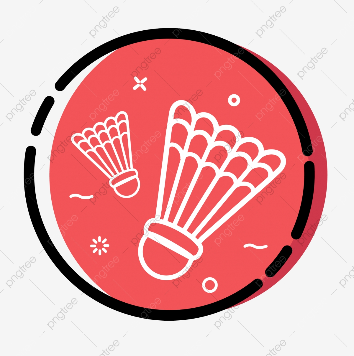 Cartoon Flat Minimalistic Sport Badminton Hobby Icon Cartoon Icon Flat Icon Simple Icon Png And Vector With Transparent Background For Free Download