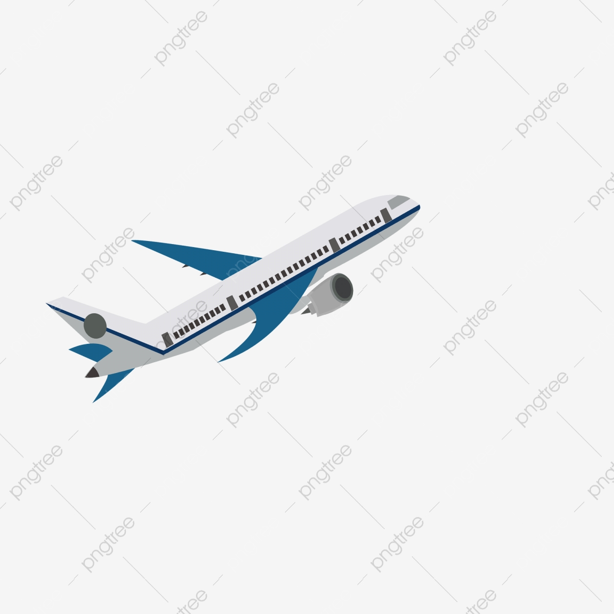 Cartoon Flying Airplane Free Illustration Airplane